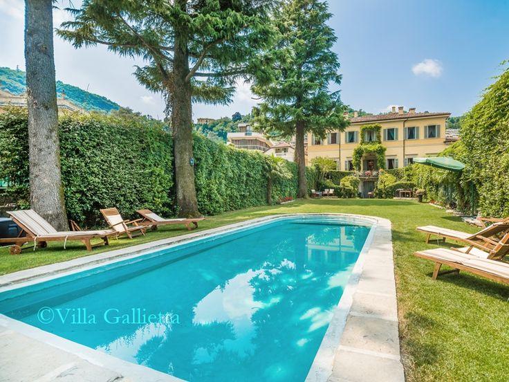 Pool and Garden - Villa Gallietta | Como #lakecomoville
