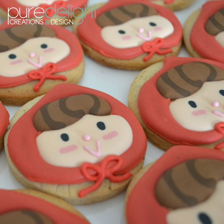 Little Red Riding Hood Sugar Biscuits