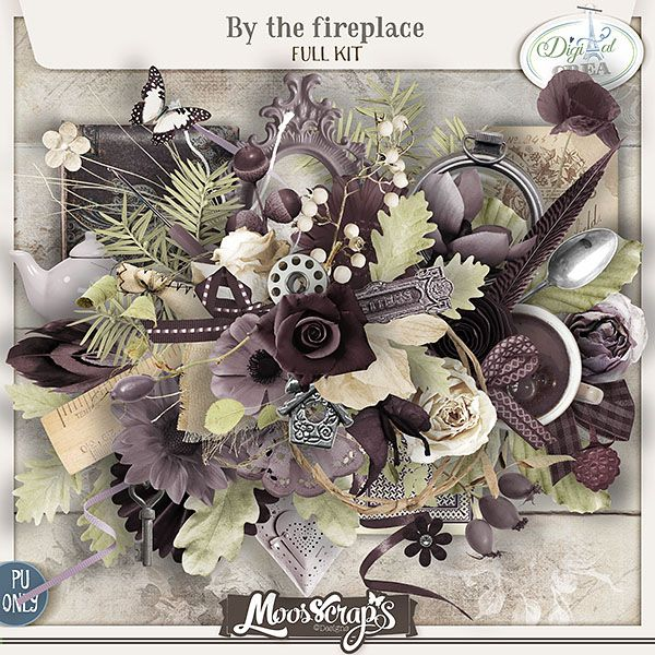 Moosscrap s   By the fireplace - full kit
