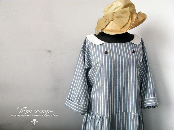 """Купить Платье """"Гавана"""" - платье, платье для путешествий, романтичное платье, длинное платье, платье из хлопка"""
