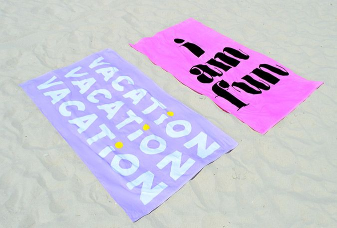 If you're reading this, you are officially banned from taking your shower towel to the beach ever again. It's time to take your beach game to a whole other level with our big and bold towel. Just imag
