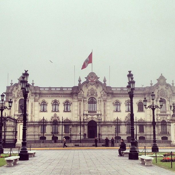 Palacio de Gobierno ! Lima - Peru !