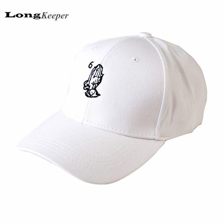 Bordado Drake 6 Dios Ora Cap Mujeres Hombres Gorras de Béisbol Diseño de marca 2017 Nuevos Casquillos Del Snapback Negro Sombreros Gorra Blanca LKP05