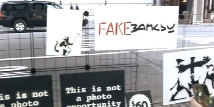 Watch An Artist Make $2400 In An Hour Selling Fake Banksy Paintings On The Street