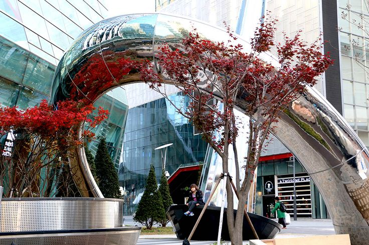 Sculpture in Star Park Korea