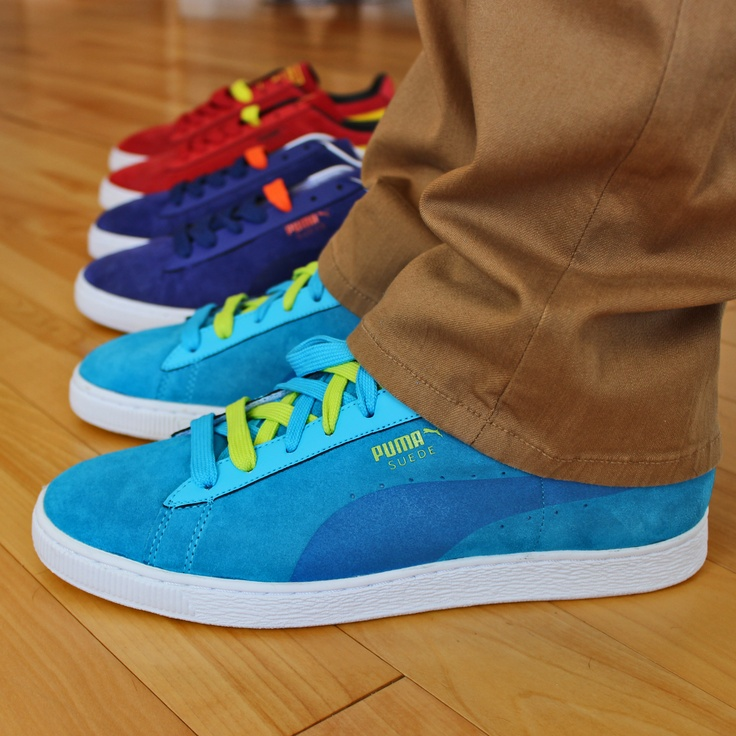 Three new pairs of Puma Suedes #PUMA #suede #classic #style #sneakers #shoes