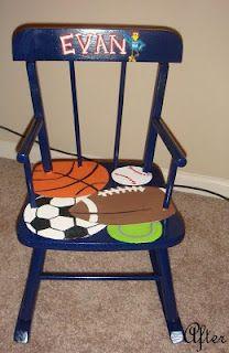 Children's rocking chair Re-do