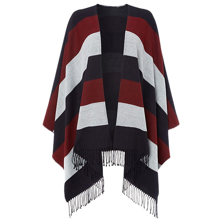 Buy Whistles Double Faced Stripe Cape | John Lewis
