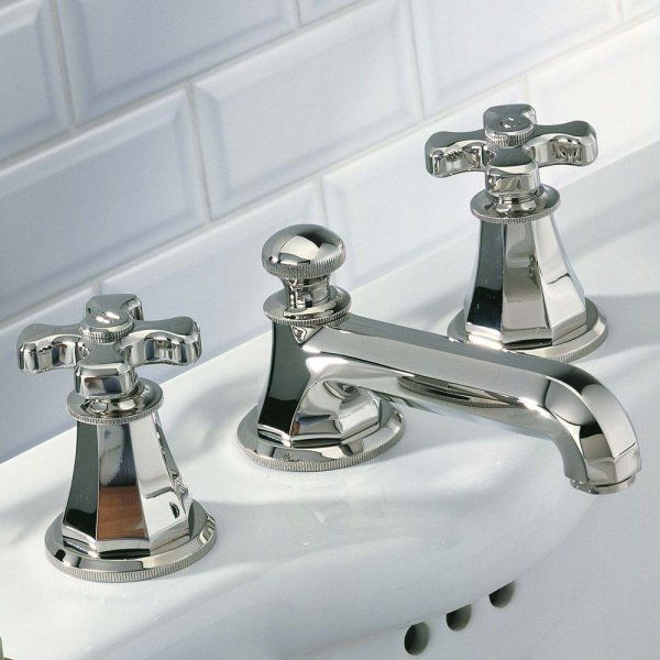 Charmant A54/151 THG Paris Traditional Art Deco Widespread Faucet