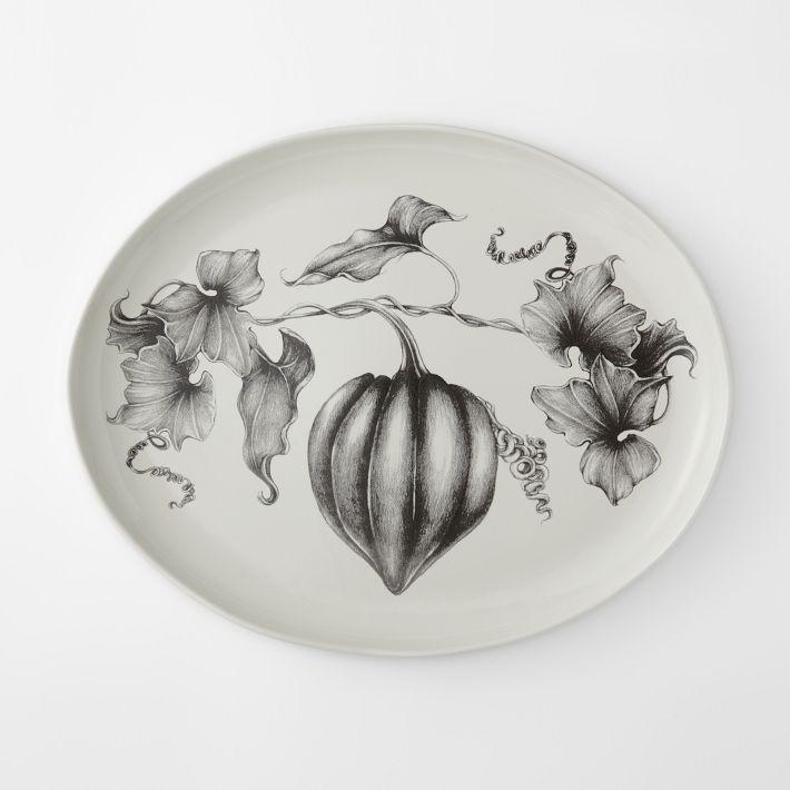 / / . Laura Zindel Platter: Acorn Squash