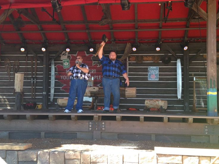 New Canadian Lumberjack show at Epcot