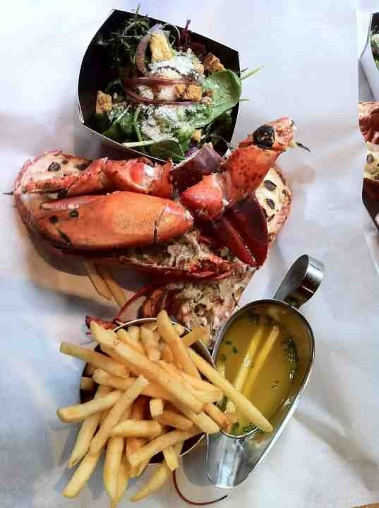 Burger and Lobster     Clerkenwell, Mayfair and Soho    £20 for an amazing burger or half a lobster, mmmm!