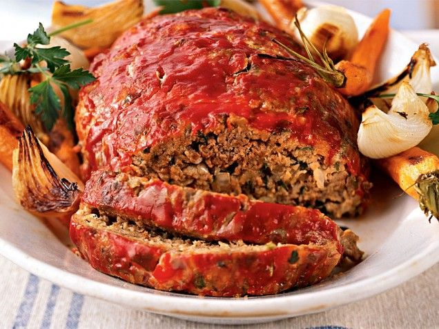 Classic Meatloaf, Ground Beef Recipes | Healthy eating | Pinterest