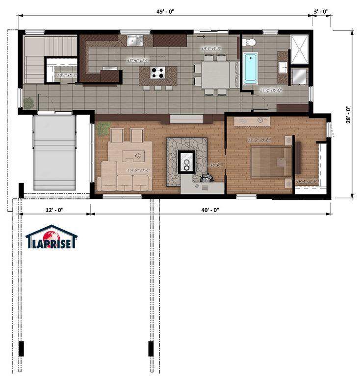 Plan petite maison moderne plan petite maison moderne for Plan petite maison moderne