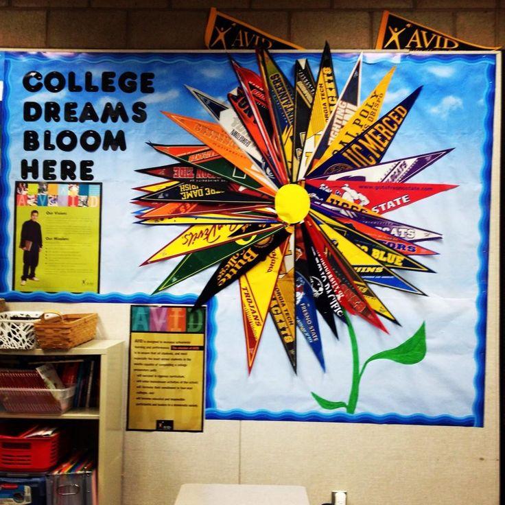 College dreams bloom here! Great photo Firebaugh High School!
