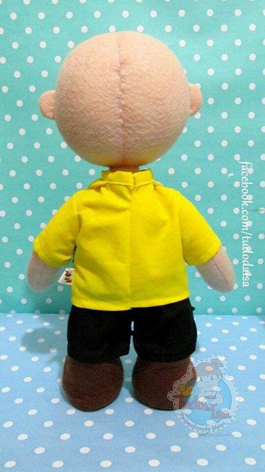 Charlie Brown / snoopie de feltro  Créditos: Tudo da Isa