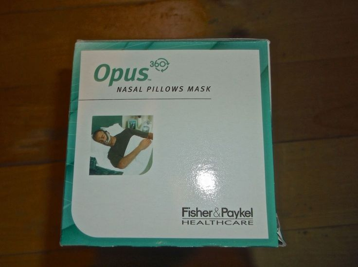 NEW w/ Box - Fisher & Paykel - Opus Nasal Pillows Mask for CPAP - Sleep Style