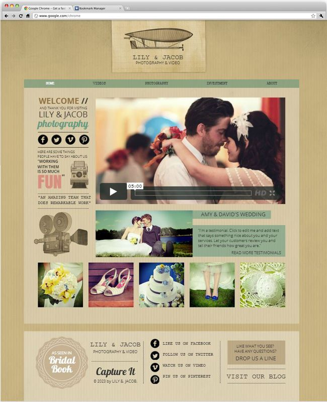 17 Best images about Website Design Templates by Wix on Pinterest ...