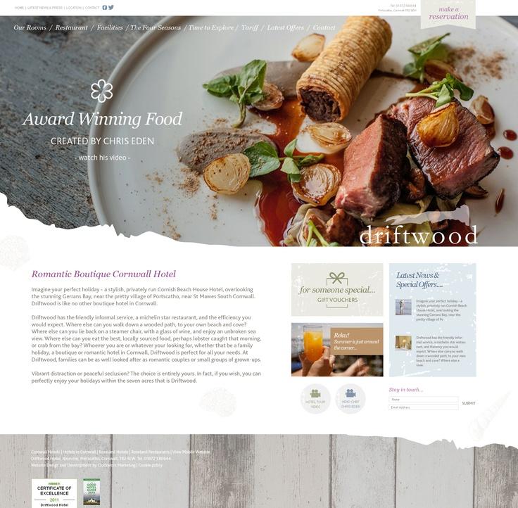 Driftwood Hotel Website