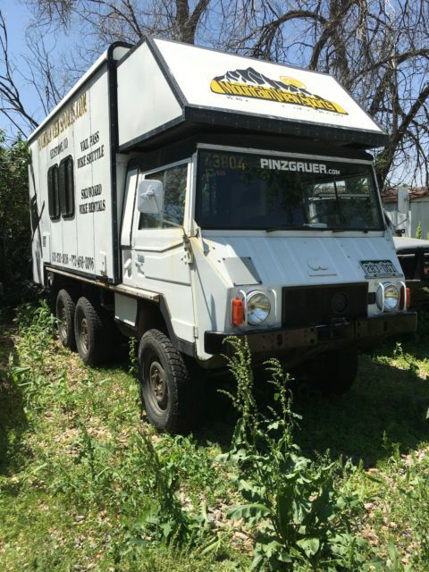 1981 STEYR PUCH PINZGAUER 712M 6X6 ULTIMATE OFF ROAD CAMPER EXPEDITION VEHICLE for sale: photos, technical specifications, description
