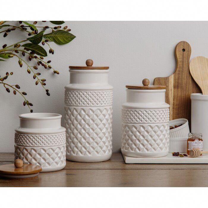 b27b1069290a54f33a1eb6ccd30413d0 - Better Homes & Gardens Ceramic Hobnail Canister Small