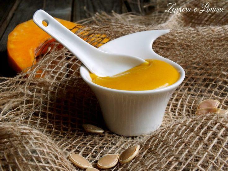 Crema+pasticcera+alla+zucca+-+ricetta+senza+uova