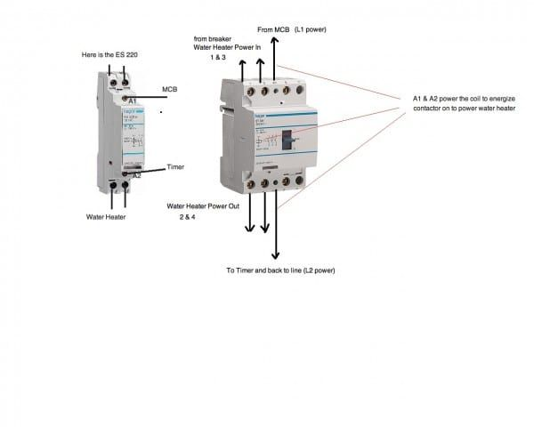 Hot Tub Contactor Wiring Diagram