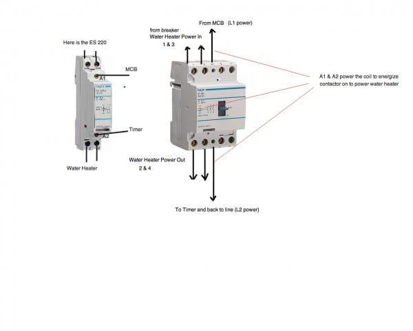 1 pole contactor wiring diagram schematic  isuzu speakers