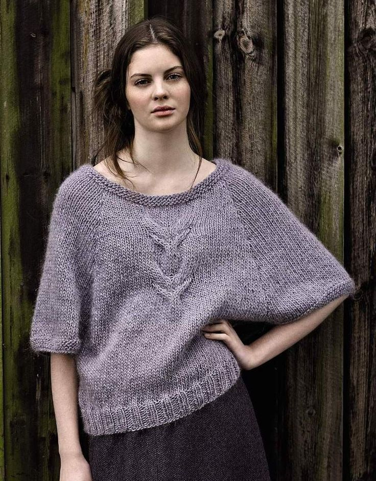 Knit sweater in Rowan Cocoon | Autumn Knits by Rowan , Black Sheep Wools
