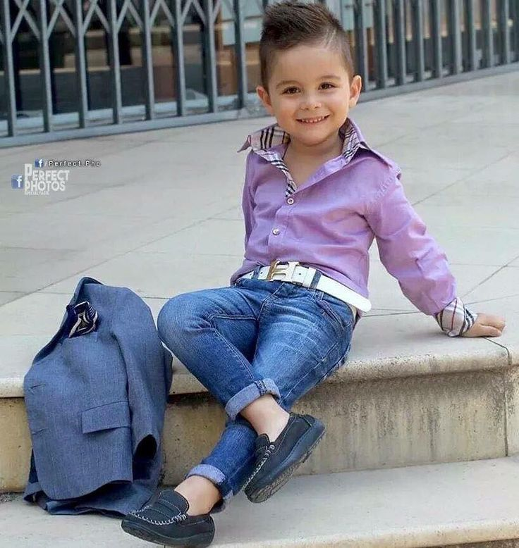 This Boy Just S Soooooo Stylish Purple Burberry Shirt