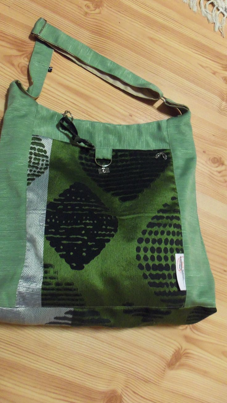 taštička  - moja dielnička, v zelenej verzii