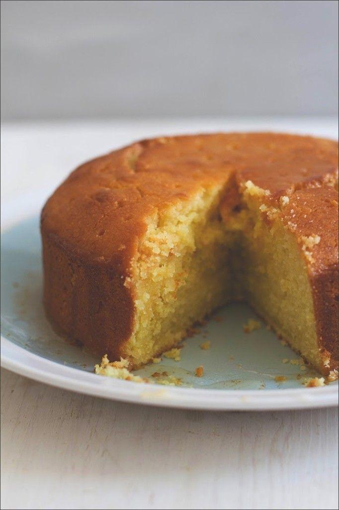 Semolina-Joghurt-Kuchen mit Zitronensirup von moeyskitchen.com