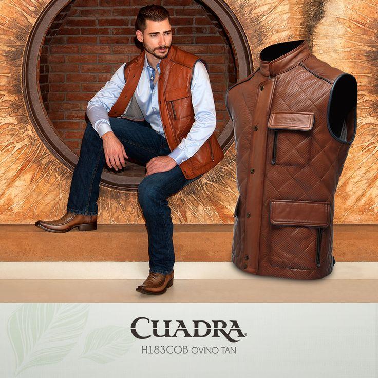 Vestir bien es sinónimo de CUADRA. #Chaleco #Hombre #Moda