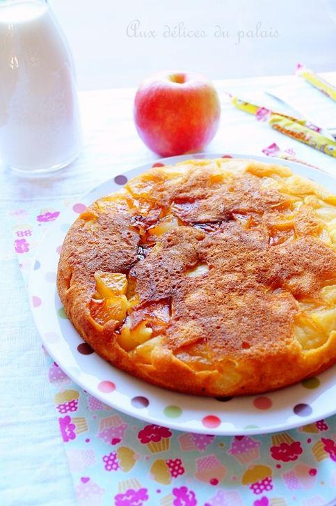 Gâteau à la poêle aux pommes