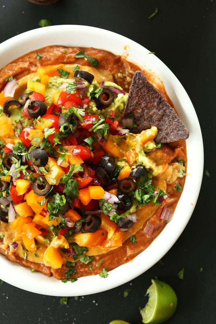 AMAZING Vegan 7 Layer Mexican Dip! #vegan