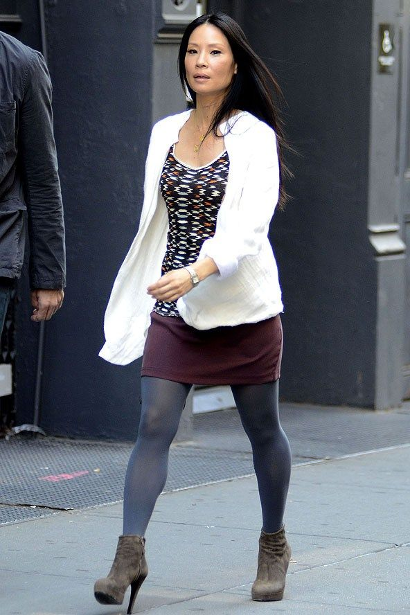 Lucy Liu Filming Elementary In New York Celebrity Fashion Lucy Lui Pinterest Beautiful