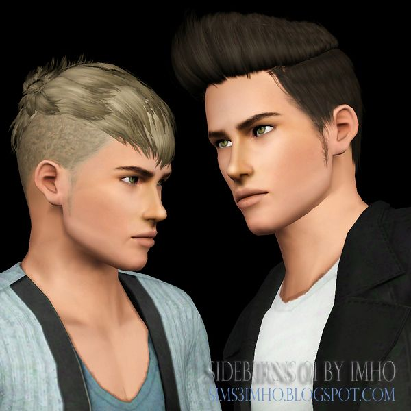 Sideburns 01 by IMHO - Sims 3 Downloads CC Caboodle