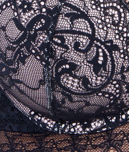 Soutien-gorge ampliforme bonnet D - FROUFROU - NOIR/BLANC - Etam