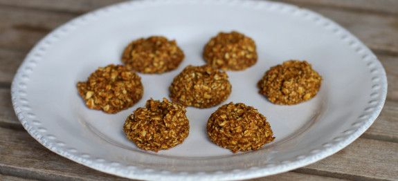 Gluten-free, oil-free Pumpkin Oat Cookies by Plant Based on a Budget