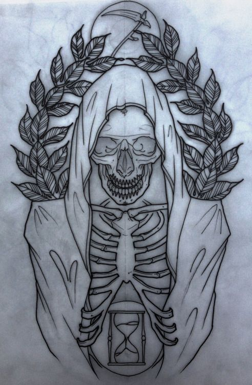 grim reaper flash | grim reaper tattoo
