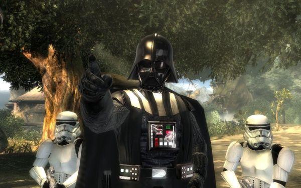 """The Force Unleashed 2 vs. The Force Unleashed : Darth Vader findet auf Kashyyyk den jungen Jedi-Sohn Galen Marek. Er bilden den Buben zum Super-Sith """"Starkiller"""" aus."""
