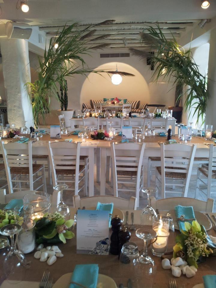 Wedding at Mykonos, Nammos