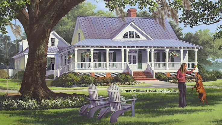 Home Plan HOMEPW26799 - 2556 Square Foot, 4 Bedroom 3 Bathroom + Cottage Home with 2 Garage Bays | Homeplans.com