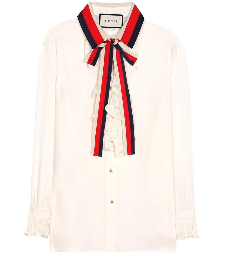 GUCCI Silk blouse. #gucci #cloth #tops
