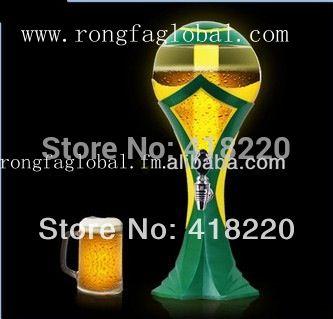 2014 new football beer tower beer dispenser cerveja torre distribuidor de cerveja Cerveja Brasil O Mundial
