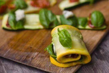 Roasted Courgette Rolls (Involtini di Zucchini)