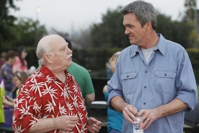 Still of Brian Doyle-Murray and Neil Flynn in The Middle (2009)