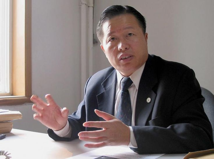 Gao Zhisheng is one of the most appreciated human rights lawyers in China. Since 2006, he has been arretsted or under home arrest. He was arrested after demanding that the Chinese government stops persecuting religious groups and after organizing a hunger strike on behalf of human rights activists.