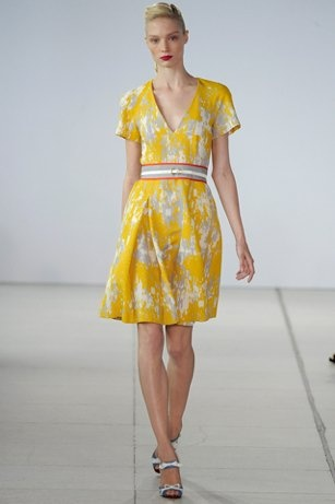 Jonathan Sanders Spring 2011 Spring Dress. I want this.