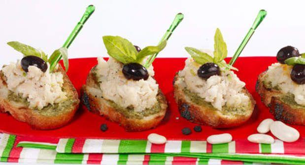 Crostinis de lingots et pestoVoir la recette des Crostinis de lingots et pesto >>